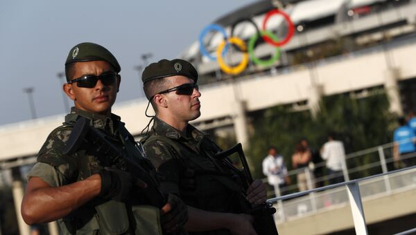 Сотрудники правоохранительных органов Бразилии. Архивное фото