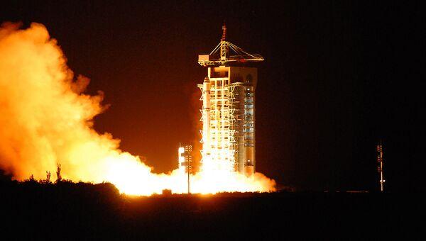 Запуск первого в мире спутника квантовой связи Мо-цзы с космодрома Цзюцюань в провинции Ганьсу. Архивное фото
