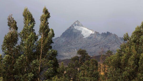 Ледники в национальном парке в Перу. Архивное фото