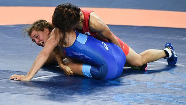 Олимпиада 2016. Вольная борьба. Женщины. Первый день