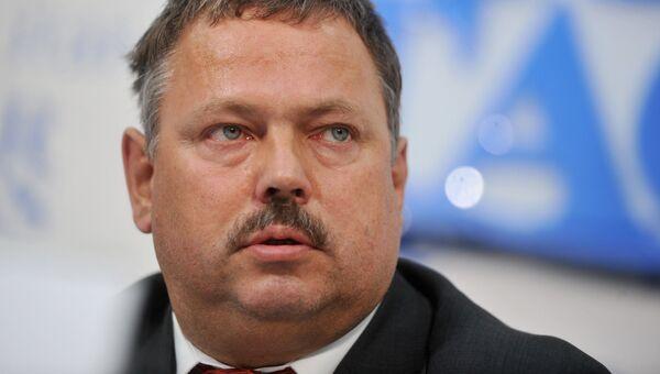 Директор департамента торговых переговоров Минэкономразвития РФ, глава делегации по переговорам о вступлении России в ВТО Максим Медведков