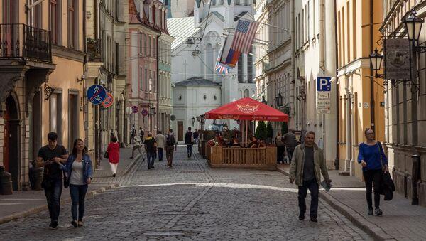 Виды Латвии. Архивное фото