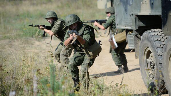 Военнослужащие ЦВО