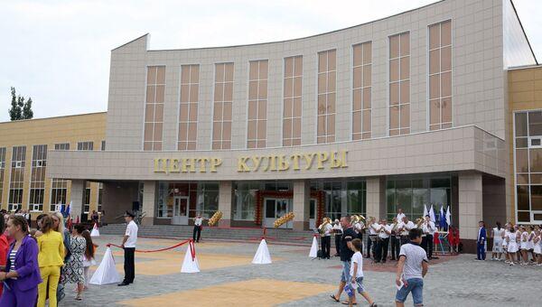 Новый центр культуры открыли в Липецкой области