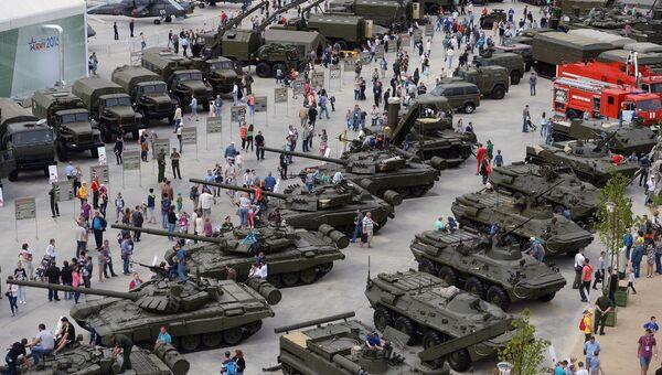 Международный военно-технический форум. Архивное фото