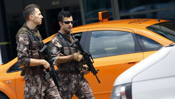 Турецкие полицейские. Архивное фото