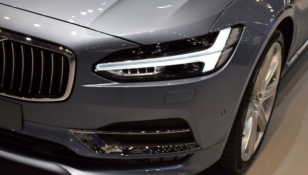 Автомобиль Volvo. Архивное фото
