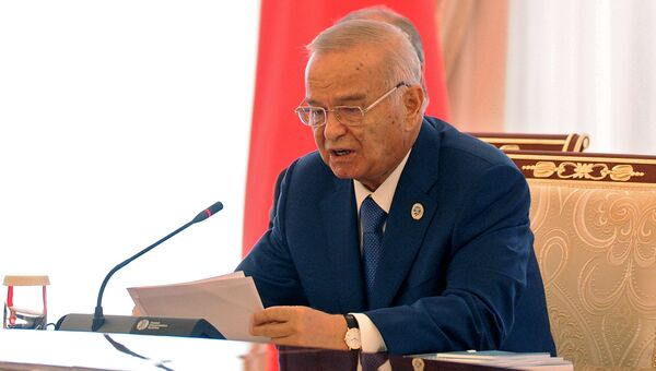 Президент Республики Узбекистан Ислам Каримов. Архив