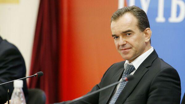 Губернатор Краснодарского края Вениамин Кондратьев. Архивное Фото.