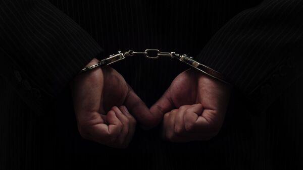 Руки в наручниках. Архивное фото