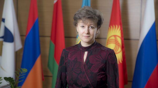 Министр по торговле ЕЭК Вероника Никишина. Архивное фото