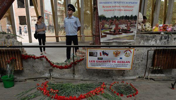 Траурные мероприятия 1-го сентября в Беслане