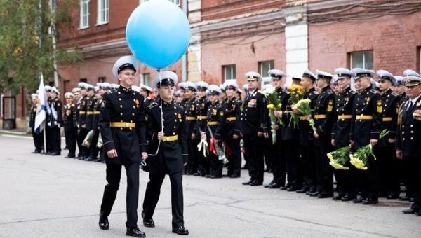 День Знаний в Кронштадтском Морском Кадетском Корпусе. 15 кадет отправляются в дальний поход на корабле ВМФ