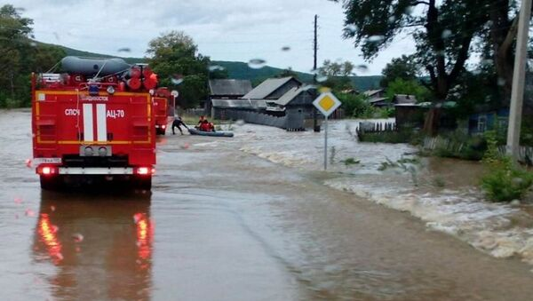 Ликвидация последствий циклона в Приморском крае. Архивное фото