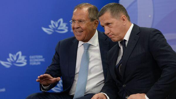 3 сентября 2016. Сергей Лавров и Юрий Трутнев
