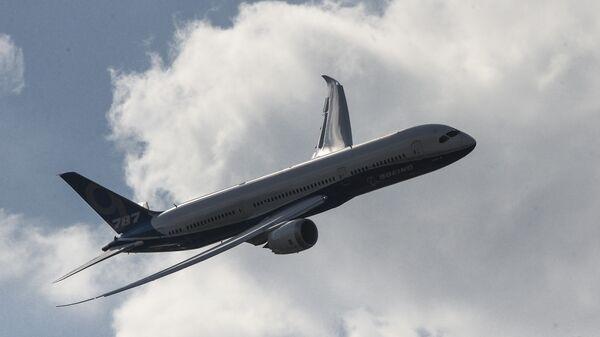 Пассажирский самолет Boeing 787 Dreamliner. Архивное фото
