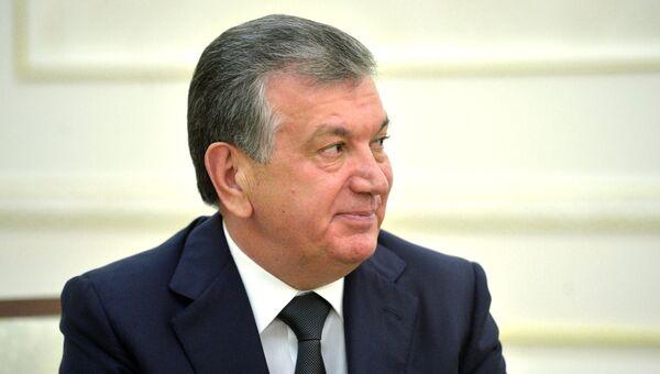 Шавкат Мирзиёев. Архивное фото