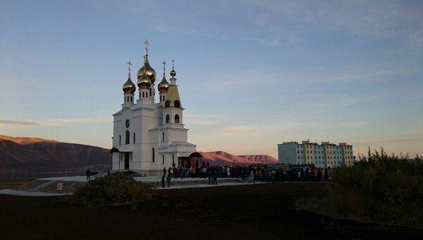 Эгвекинот храм Воздвижения Креста, который освятил патриарх Кирилл