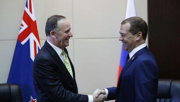 Поездка премьер-министра РФ Д. Медведева в Лаос