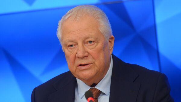 Виталий Смирнов на заседании Независимой общественной антидопинговой комиссии. Архивное фото