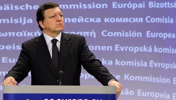 Экс-председатель Еврокомиссии Жозе Мануэль Баррозу. Архивное фото