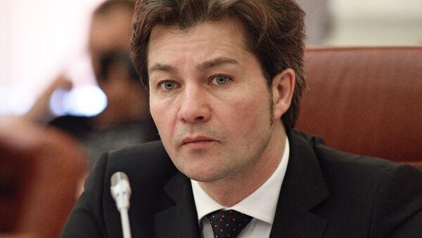 Министр культуры Украины Евгений Нищук. Архивное фото