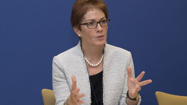 Посол США на Украине Мари Йованович. Архивное фото