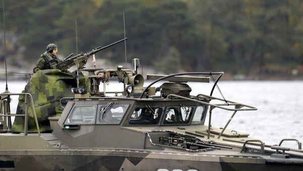 Военнослужащие вооруженных сил Швеции, архивное фото