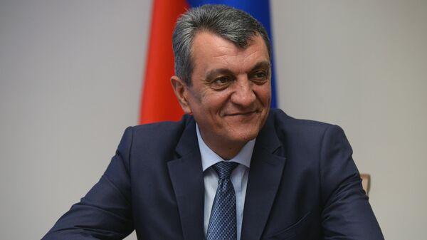 Полномочный представитель президента в СФО Сергей Меняйло