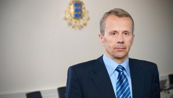 Министр финансов Эстонской Республики Юрген Лиги. Архивное фото