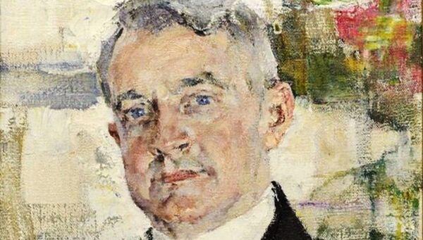 Картина художника Николая Фешина Портрет Джека Хантера