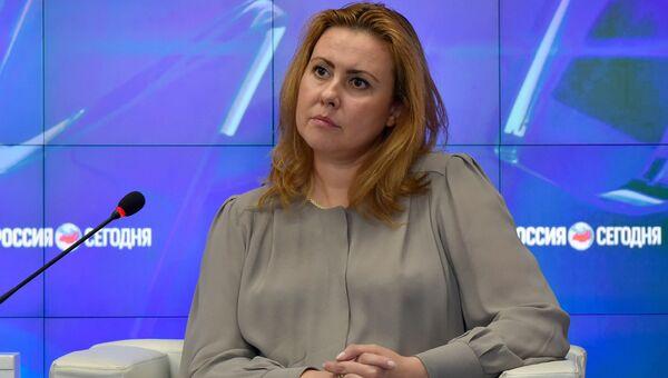 Министр энергетики Крыма Светлана Бородулина