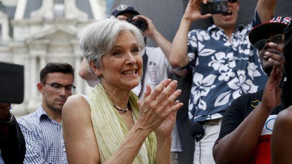 Кандидат в президенты США от Партии зеленых Джилл Стайн. Архивное фото