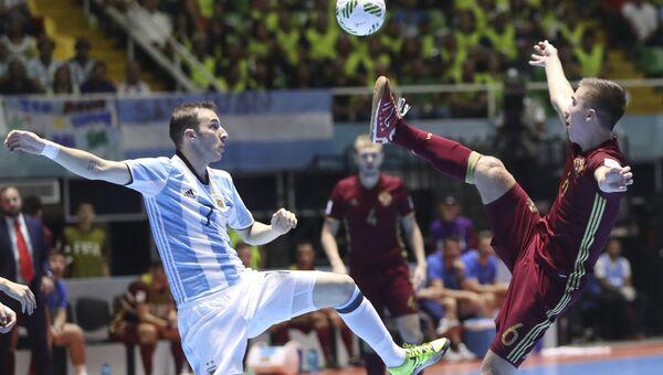 Мини-футбол. Чемпионат мира. Финал. Матч Россия - Аргентина