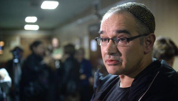 Блогер Антон Носик, обвиняемый в распространении экстремистских материалов в интернете, в Пресненском суде Москвы