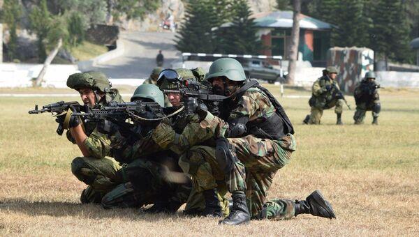 Военнослужащие России и Пакистана на учениях Дружба. Архивное фото