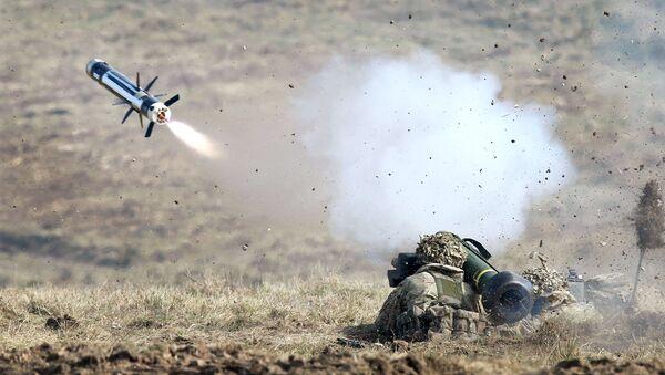 Противотанковый ракетный комплекс Javelin ВС США. Архивное фото