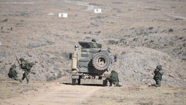 Во время совместных тактических учений  стран ОДКБ. Архивное фото