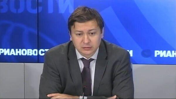 Директор Центра энергетики и безопасности Антон Хлопков