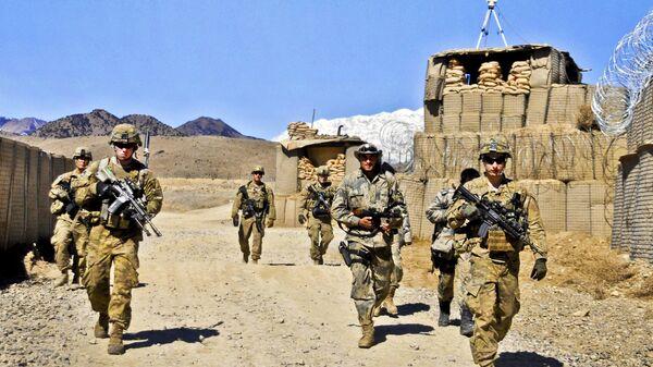 Солдаты США в Афганистане. Архивное фото