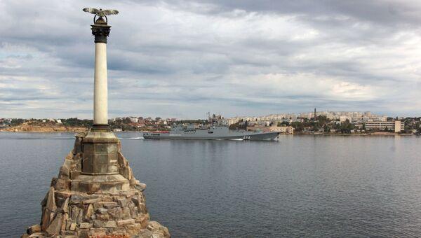 Порт Севастополя. Архивное фото