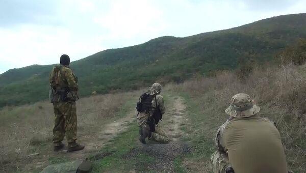 Сотрудники спецназа ФСБ. Архивное фото