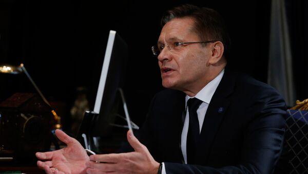 Генеральный директор Росатома Алексей Лихачев. Архивное фото