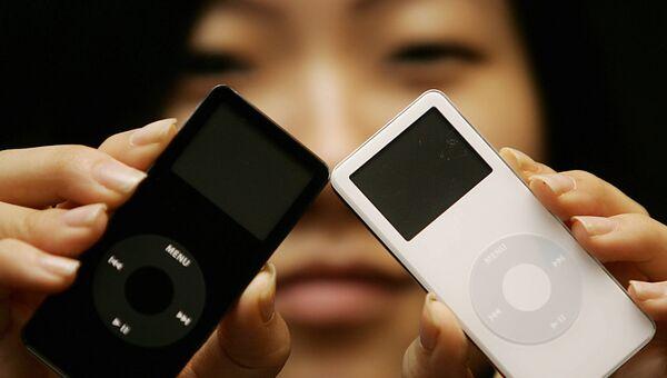 Плеер iPod nano первого поколения. Архивное фото