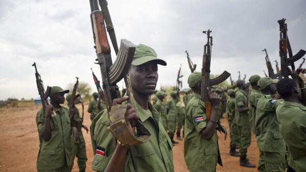 Повстанцы в Южном Судане. Архивное фото