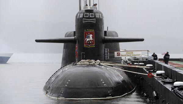 Атомный подводный крейсер стратегического назначения Святой Георгий Победоносец. Архивное фото
