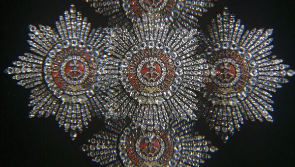 Звезда ордена Святой Екатерины. Архивное фото