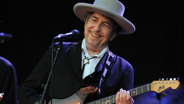 Американский музыкант Боб Дилан. Архивное фото