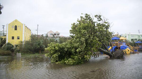Последствия урагана Николь на Бермудских островах