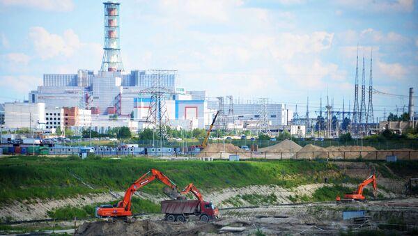 Площадка строительства Курской АЭС-2. Архивное фото